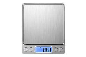 Bilancia da cucina digitale bilancino con display LCD funzione tara 500gr B19