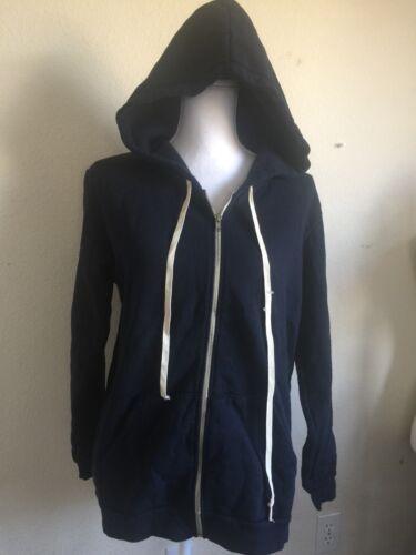 Up Christina Navy Hoodie Zip Fleece Melville Oversize Nvt Jakke Os Brandy Blue qOaCxwTAXn