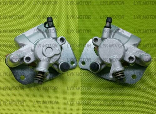 Front Right Left Brake Calipers Suzuki King Quad 450 LT-A450X  With Pads 07-10