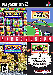 Namco Museum (Sony PlayStation 2, 2001)  COMPLETE   PAC-MAN  FAST SHIPPING  PS2
