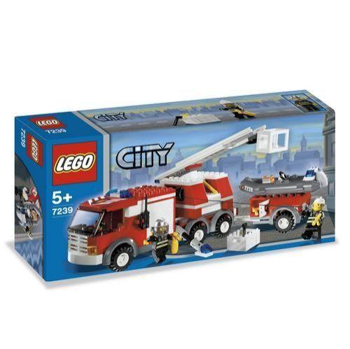 Lego City Fire Truck 60002 For Sale Online Ebay