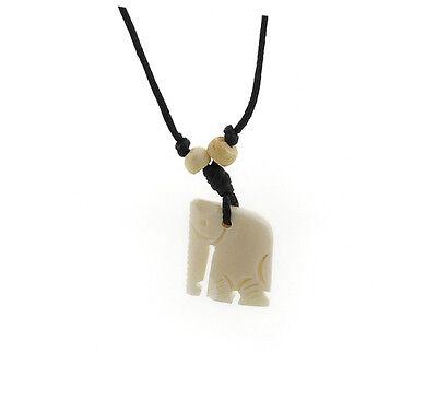 COLLIER  PENDENTIF  YAK ELEPHANT  NEPAL  A41B