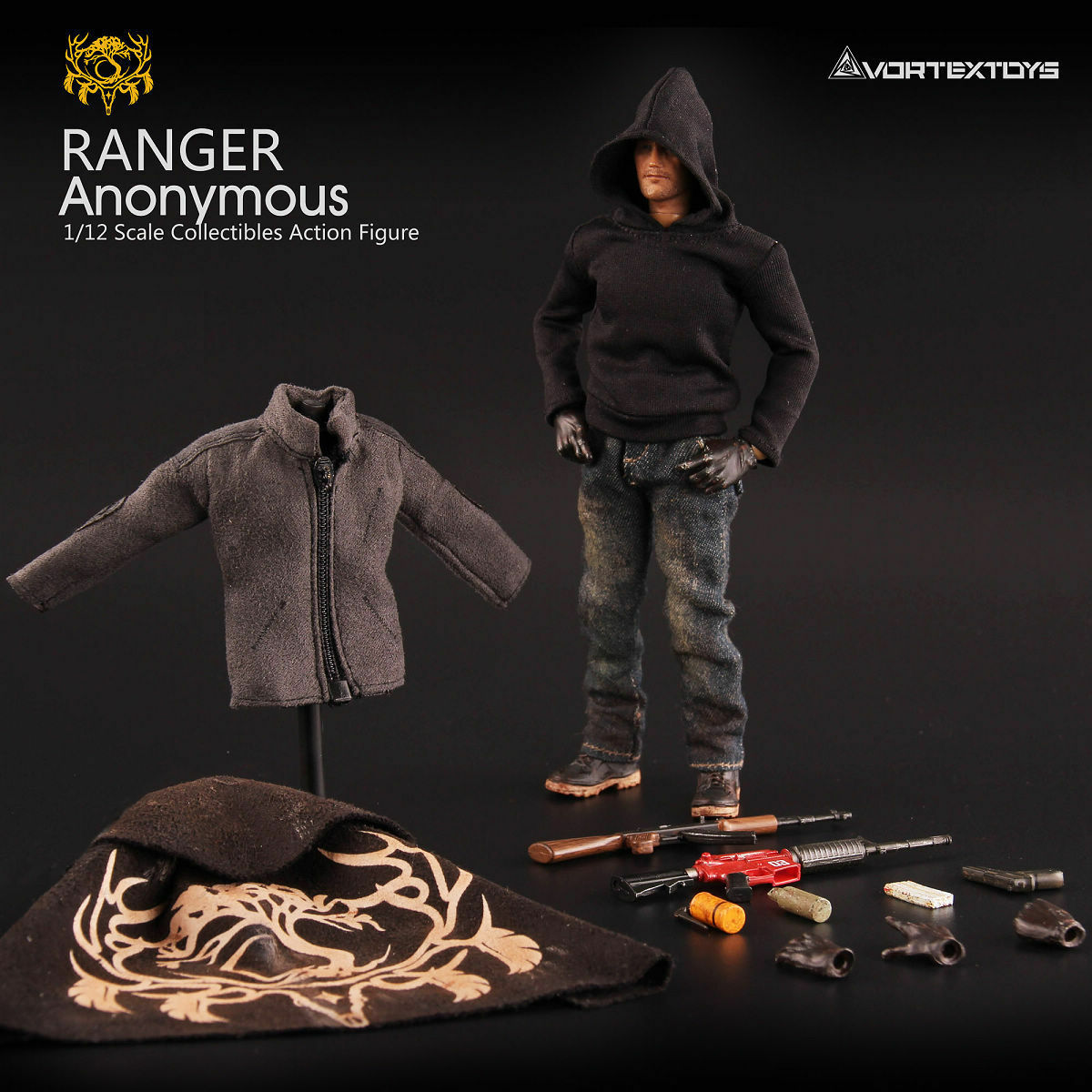 VortexToys V00012 YEW Series 1 12 Scale Ranger Anonymous Collectible  Figure  boutique en ligne