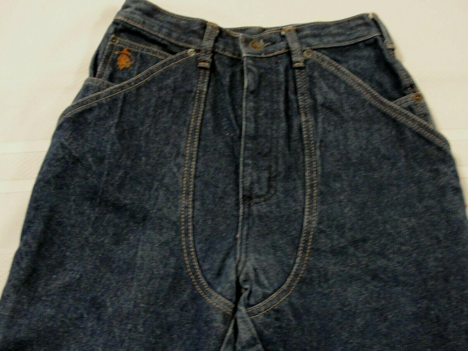 Kenny Rogers Men's Vintage Jean Chaps, Size 26 X … - image 3