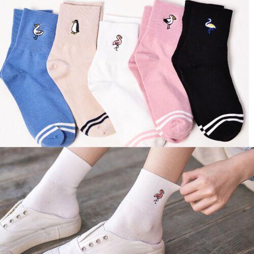 Hot Sale Lovely Cartoon Cute 1 Pair Cotton Women Girl Sock Animal  Pattern