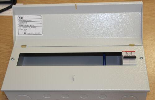 16 way ABB métal amendement 3 Consommateur Unité C//W DP 100 A Isolateur E202 Inc 10 BCP