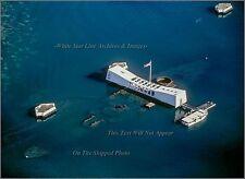 Photo Aerial: Pearl Harbor: The USS Arizona Memorial, View 2