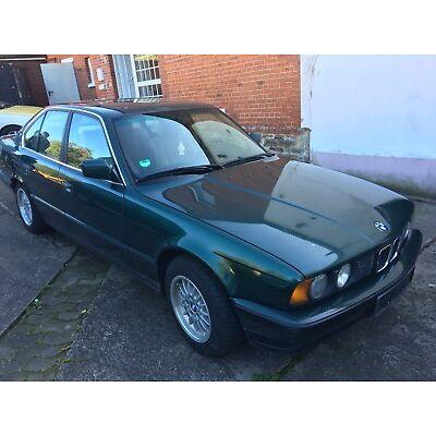 BMW e34 520i M50 150PS Grün Originalzustand Bj 1990 AHK 199500km