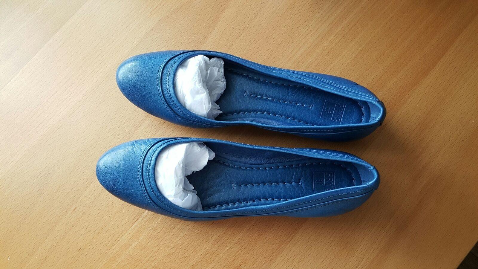 Frye NIB  178 agnes ballet leather jeans flats  8 M