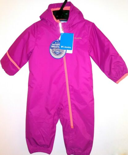 Columbia Infant Girls 3-IN-1 Hot Pink WHIRLIBIRD BUNTING 6-12M 12-18M 18-24M NWT