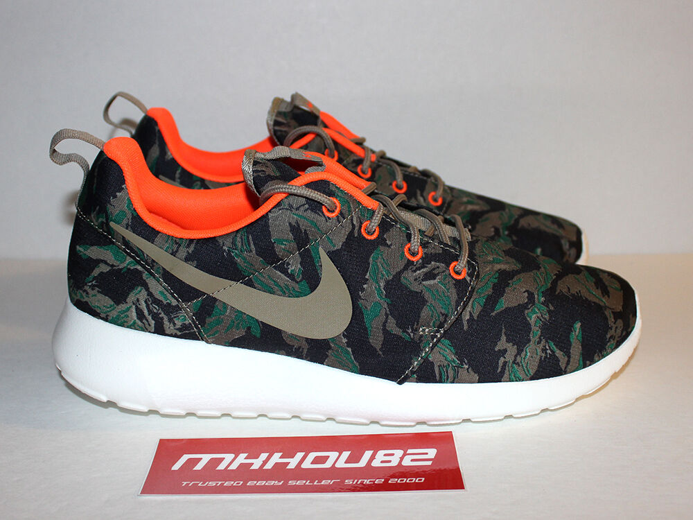 New Nike Roshe Run Print Tiger Camo Rosherun gpx gpx gpx fb 2 green Shoes Size 11 e8df07
