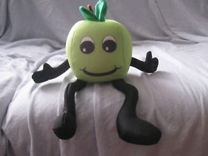 micro-bead-plush-apple-travel-pillow-ABQ-Health-Partners-promo