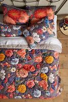 Handmade Reversible Quilt Soft Blanket Comforter Anthropologie Bedding EDH