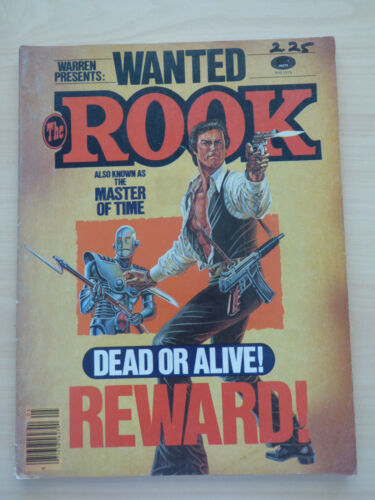 Warren Presents THE ROOK comic May 1979 Cover artist Paul Gulacy