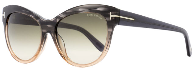 New Tom Ford Anoushka sunglasses TF0371F 53F Havana Brown Gradient  AUTHENTIC TF