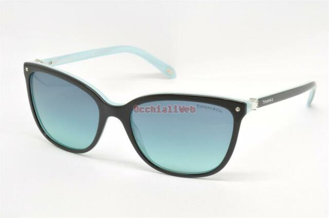 bdbcf5d23ab5 Authentic Tiffany   Co. Aria Black Sunglasses TF 4105hb - 81939s for ...