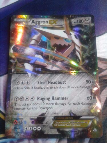 Aggron EX Stolloss EX EX Karte Englisch Pokemon NM 93//160 Primal Clash