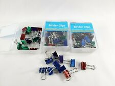 72 Small Binder Clips 3 Pack Of 24 Assorted Colors 72 Count 38