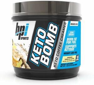 BPI Sports Keto Bomb 18 Servings French Vanilla Latte