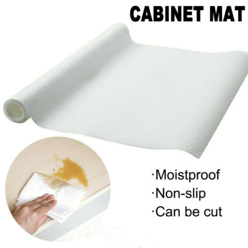 Rutschfeste Schubladenmatte Shelf Liner Cabinet Storage Pad KüchengummischrankDE