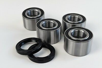 1000 BOTH Front AND Rear Wheel Bearing and Seal Kits Max Can-Am Maverick