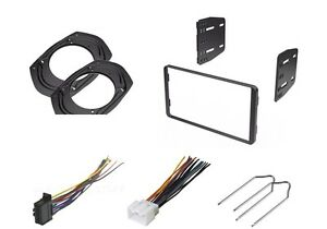 CAR STEREO DASH INSTALL KIT SINGLE DIN WIRE HARNESS REMOVAL KEYS PIONEER FORD