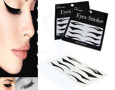 4 Styles Sexy Instant Tattoo Transfer Eyeshadow Eyeliner Eyes Sticker Make-Up **
