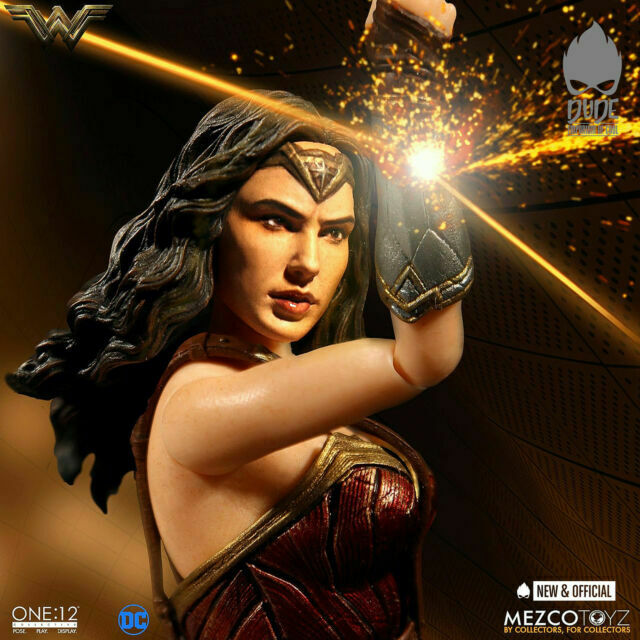 """Mezco Wonder Woman Movie One:12 Collective 6/"""" Action Figure Brand New In Stock!"""
