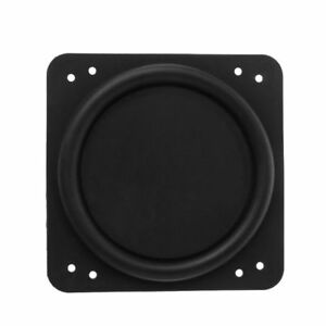 Radiator-Radiator-Passive-Speaker-Rubber-Auxiliary-Bass-For-Subwoofer-76-76mm
