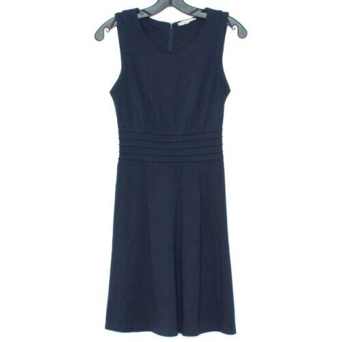 41 Hawthorn Womens Dress Dita Ponte Sleeveless Nav