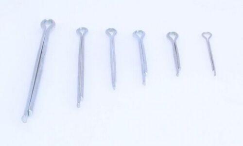 1000 Sicherungssplint Sortiment Sicherungsstifte Satz Splint Set gerade 1,5-4,0