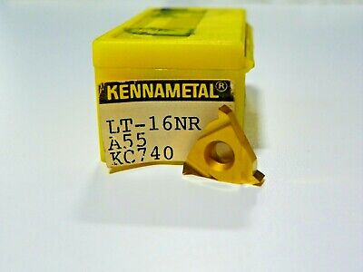 16ER 0.5ISO KC740 CARBIDE INSERTS        H044 KENNAMETAL 10 PIECES