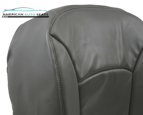 Driver Bottom Perforated Vinyl Seat Cover GRAY 00 01 02 Ford E250 E350 Work Van