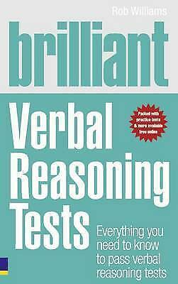 Brilliant Verbal Reasoning Tests: Everything you need to know to pass-ExLibrary
