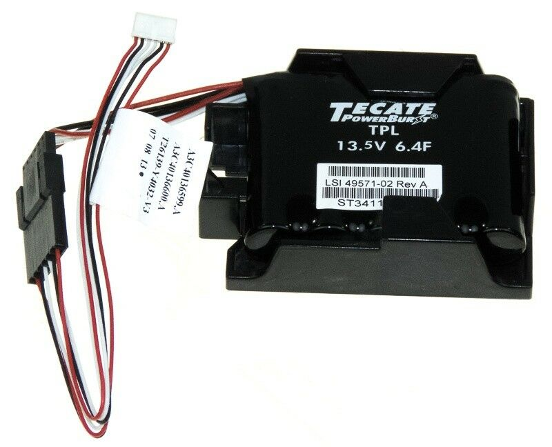 LSI / FUJITSU 49571-02/A3C40137317 Tpl 13.5V 6.4F Raid Cache Batterie