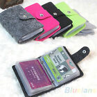 Fashion Womens Pouch Id Credit Card Wallet Cash Holder Organizer Case Box Pocket