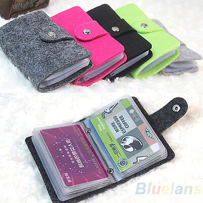 Casual Womens Pouch Id Credit Card Wallet Cash Holder Organizer Case Box Pocket