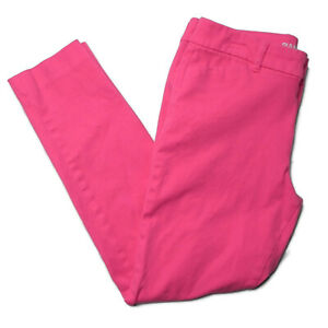 Old-Navy-Pixie-Womens-4-Pink-Stretch-Denim-Skinny-Pants-Mid-Rise-Jeggings