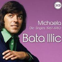 "BATA ILLIC ""MICHAELA-DIE SINGLES 1967-1980"" 3 CD NEU"