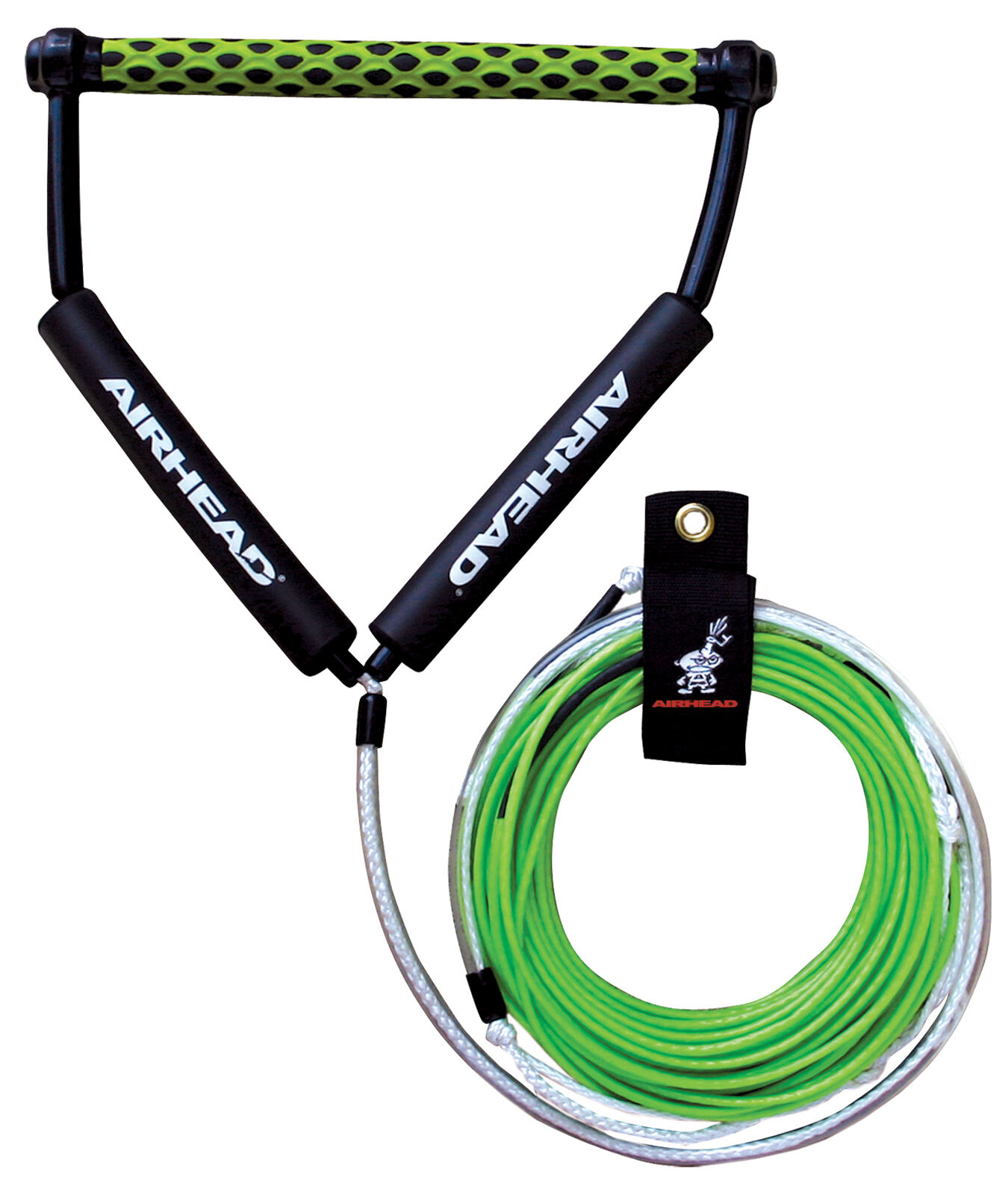 Airhead Spectra Thermal Waterski Wakeboard Ski Rope 4 Section 70' c w rope tidy