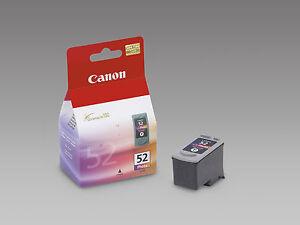 ORIGINAL-CANON-CHROMALIFE-100-Cartouche-Encre-CL52-CL-52-CL-52-Photos-NEUF