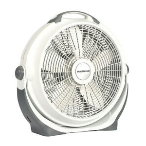 Lasko 20 Quot Air Circulator Wind Machine 3 Speed Fan Gray