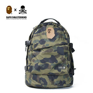 b2f37d3a9c New A Bathing Ape Camouflage Army Backpack Bape High Quality Laptop ...