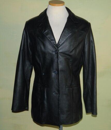Size 12 Scully Women's Black Leather Classic Blaze