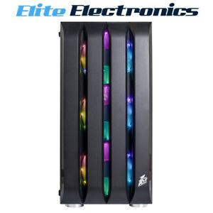 1st Player Black Sir B2 M-ATX Computer Case w/ 3x A2 RGB Cooling Fans