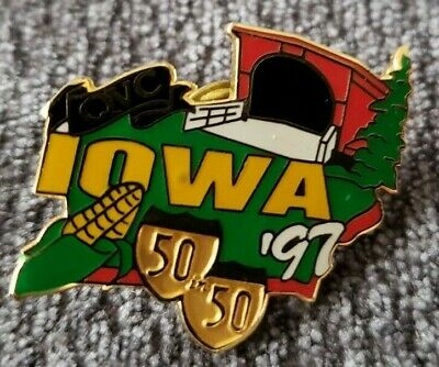 1997 QVC 50 IN 50 STATE MAP TRAVEL PIN MINNESOTA