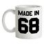 Made-in-039-68-Mug-51st-Compleanno-1968-Regalo-Regalo-51-Te-Caffe miniatura 1