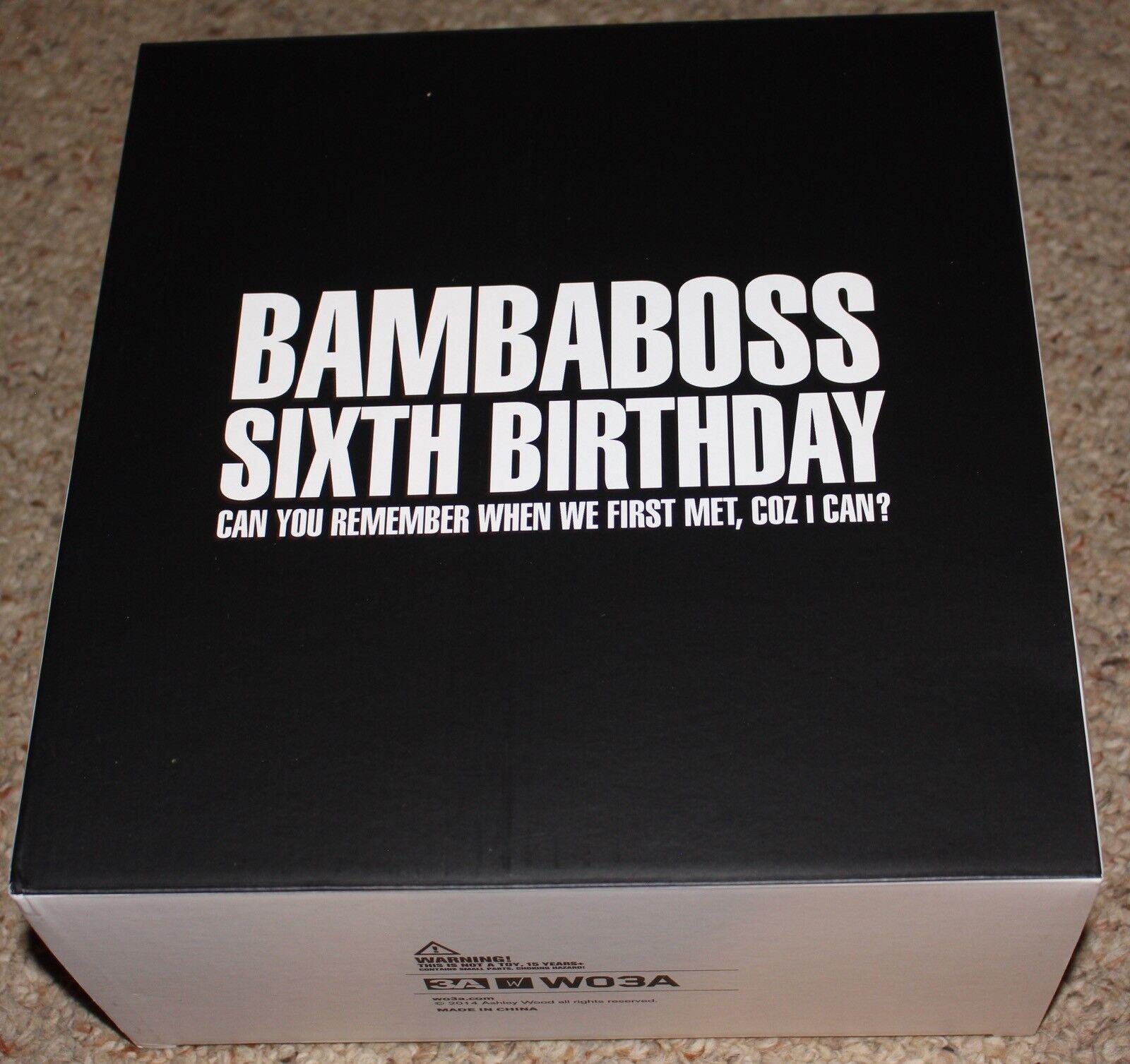 3A ThreeA 6th Bambaboss Birthday 3aa Figure Complete in Box