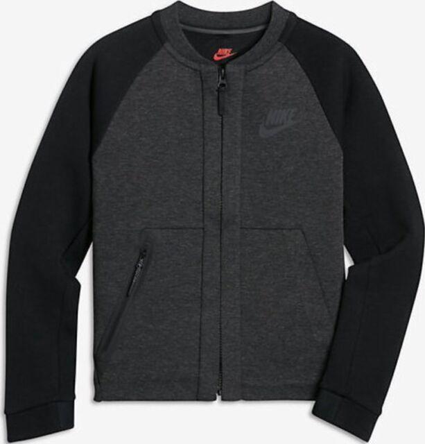 ea8885113f5b Nike Sportswear Tech Fleece Bomber Big Kids  (boys ) Jacket 856188 032 Sz  Small for sale online