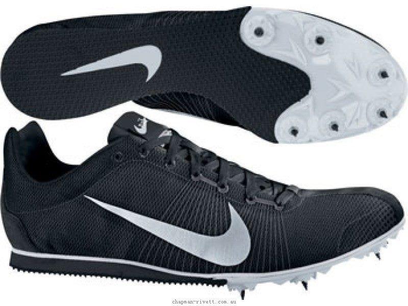 Nike Zoom Rival D Hombre Para Correr Picos Zapatos Negro nuevo Reino Unido 12 333661 -001 T31